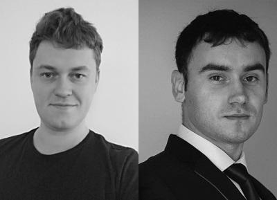 Arek Cacko i Dmytro Svarychevskyi